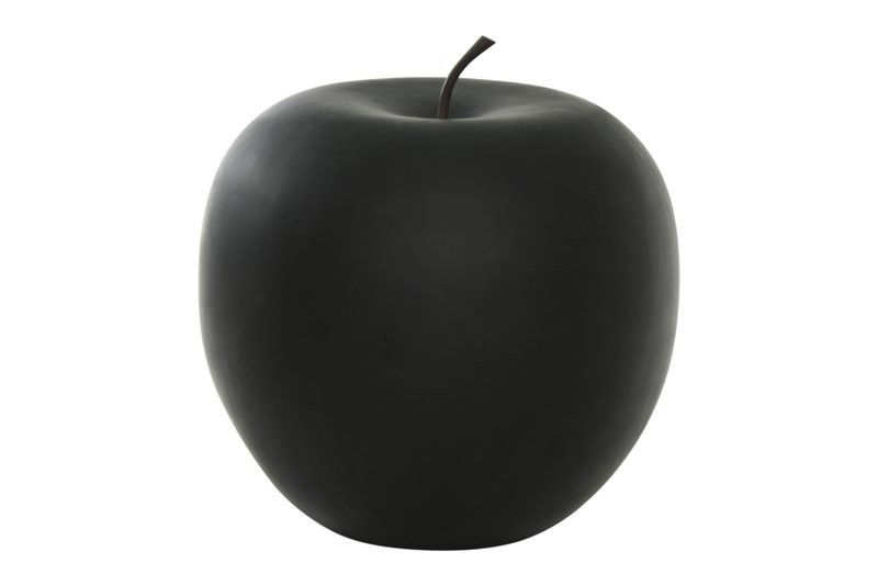 pomme d corative finition mate noir mod le m. Black Bedroom Furniture Sets. Home Design Ideas