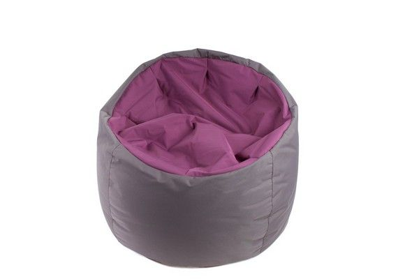 pouf bowly aubergine. Black Bedroom Furniture Sets. Home Design Ideas