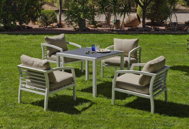 Salon de jardin en aluminium top fly salon de jardin for Fly mobilier de jardin