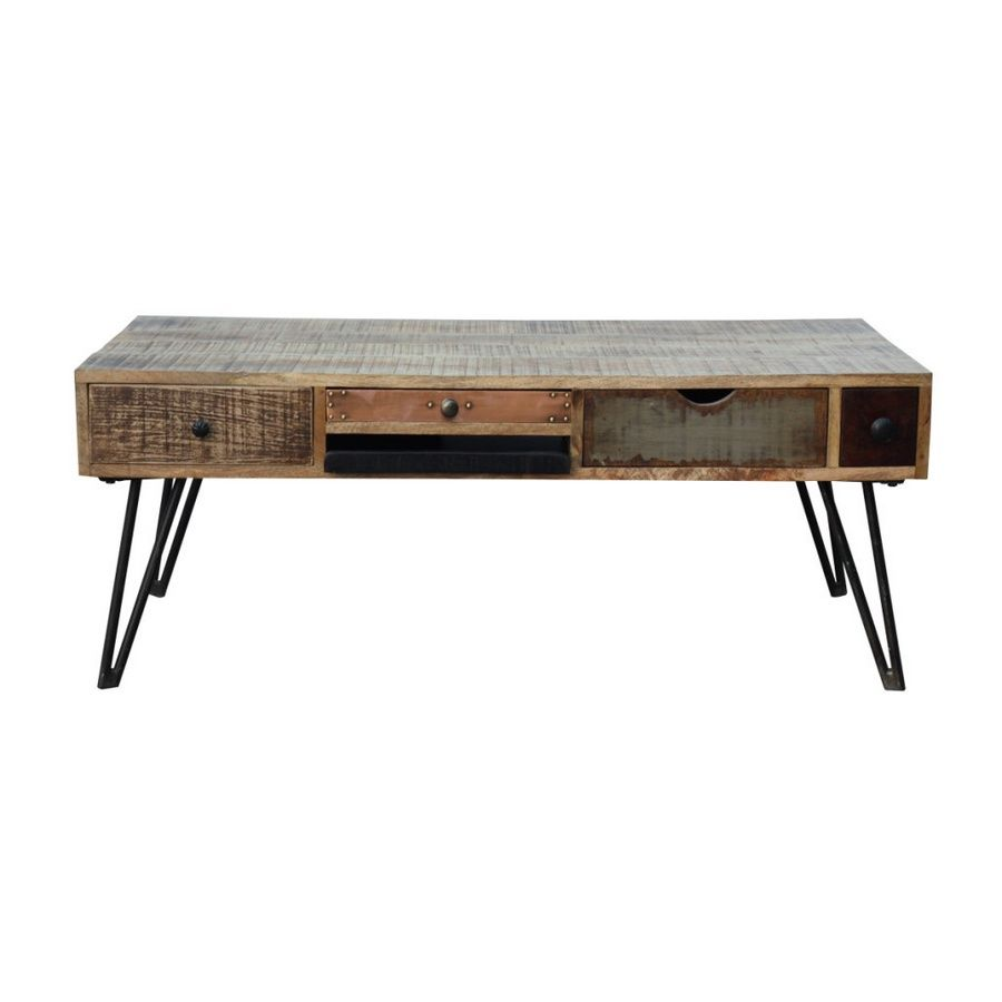 Table basse manguier fusion 120x60x47 - Table basse manguier ...