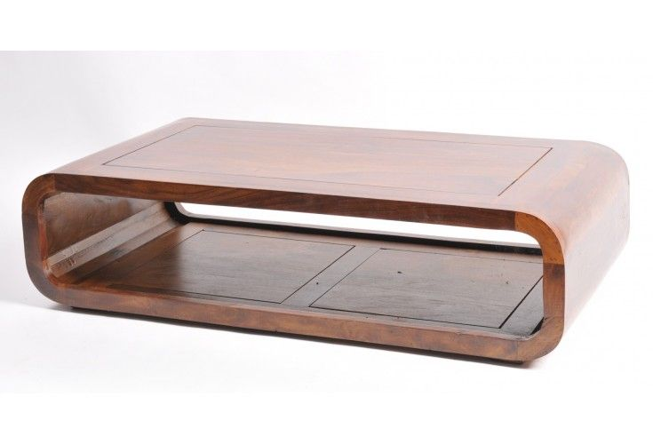 table basse palissandre sixties 120x60