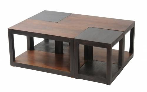 Table basse palissandre massif roma mobilier - Table basse palissandre massif ...