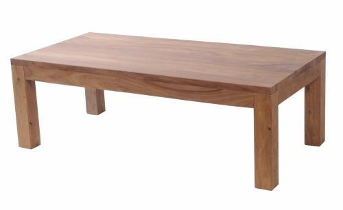 Table basse palissandre massif naturel rectangulaire for Table basse palissandre