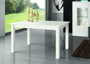 Table de repas rectangle extensible Kronos finition polar