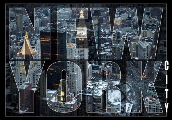 Tableau design plexi new york city 60x40 for Tableau plexiglass new york