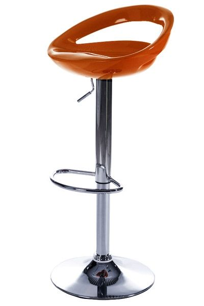 tabouret de bar design smile orange mobilier. Black Bedroom Furniture Sets. Home Design Ideas