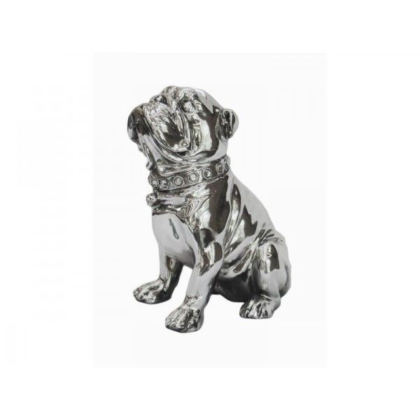 Statue chien deco statue deco design statuette design for Bibelot design rouge