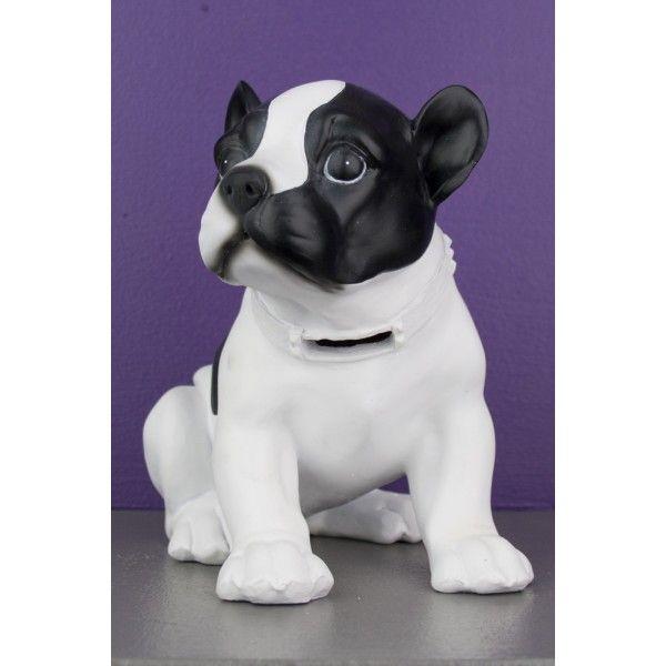 Bibelot tirelire statuette chien assis noir so skin for Bibelot de decoration