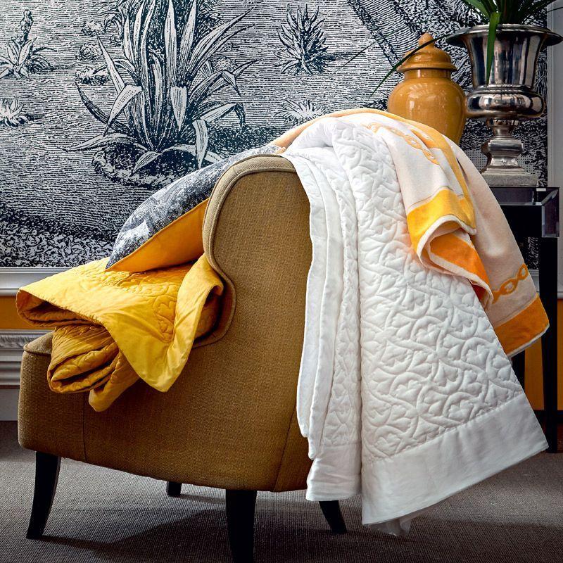 linge de maison couvre lit matelassé Couvre lit matelassé Paradis Neige satin de coton 260x240   Linge  linge de maison couvre lit matelassé