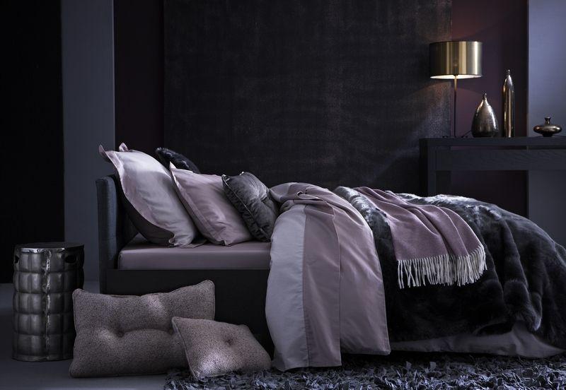 drap de lit satin de coton darcy an mone 240x300 linge de maison. Black Bedroom Furniture Sets. Home Design Ideas