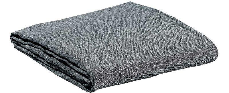 drap housse lin stonewashed meltemi carbone 140x190 linge de maison. Black Bedroom Furniture Sets. Home Design Ideas