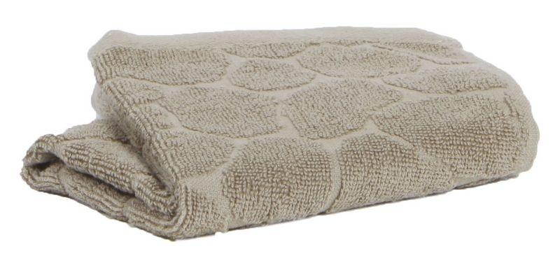 drap de bain gal a taupe 70x140 vivaraise. Black Bedroom Furniture Sets. Home Design Ideas