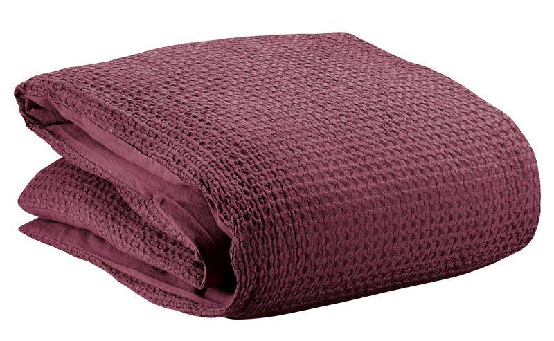housse de couette phebus bordeaux 140x200 linge de maison. Black Bedroom Furniture Sets. Home Design Ideas