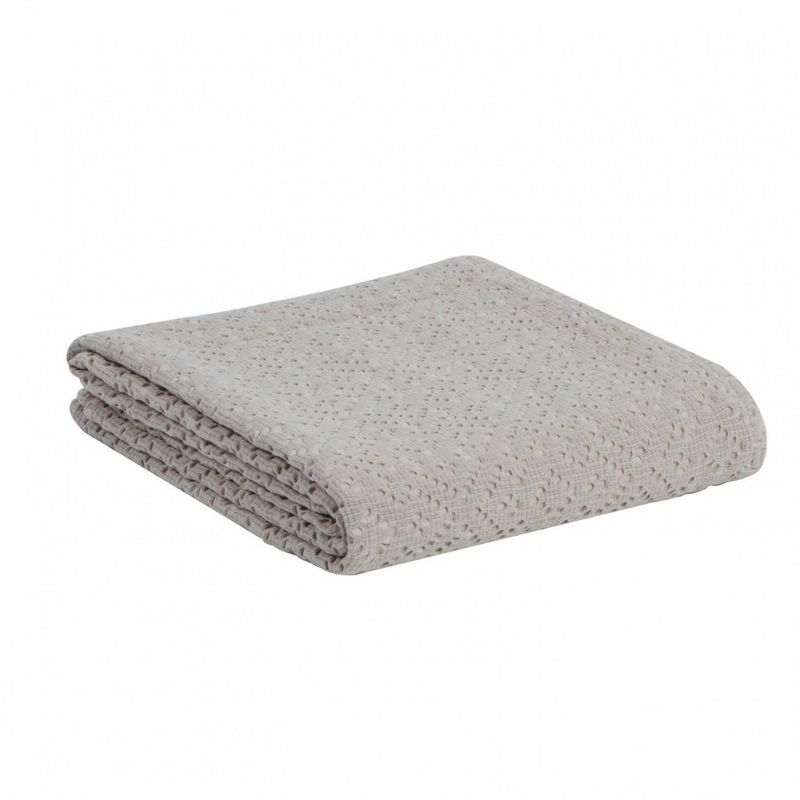 jet de lit ad le stonewashed lin 180x260 linge de maison. Black Bedroom Furniture Sets. Home Design Ideas