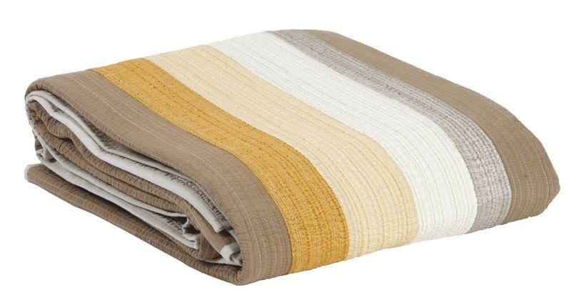 jet de lit jules ambre 240x260 linge de maison. Black Bedroom Furniture Sets. Home Design Ideas