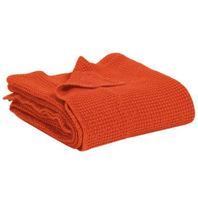 jet de lit maia citrouille coton 260x260 linge de maison. Black Bedroom Furniture Sets. Home Design Ideas