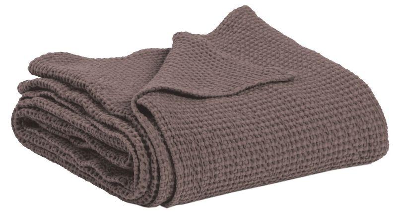 jet de lit ma a stonewashed taupe 260x240 linge de maison. Black Bedroom Furniture Sets. Home Design Ideas