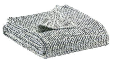 jet de lit mayana indigo coton stonewashed 240x260 linge de maison. Black Bedroom Furniture Sets. Home Design Ideas