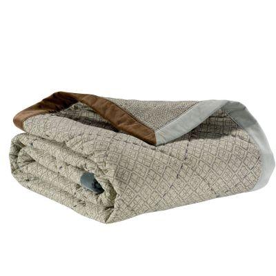 jet de lit rosetta orage coton 240x260 linge de maison. Black Bedroom Furniture Sets. Home Design Ideas