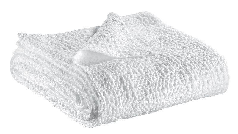 jet de lit stonewashed tana blanc 260x260 linge de maison. Black Bedroom Furniture Sets. Home Design Ideas