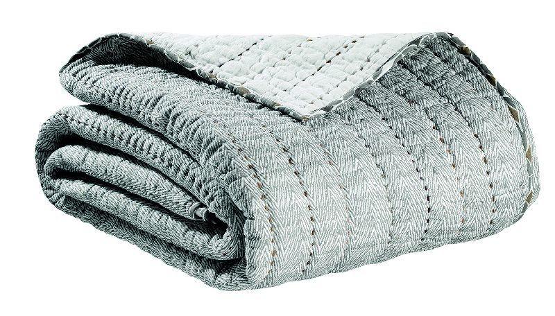 jet de lit coton georgio orage 240x260 vivaraise. Black Bedroom Furniture Sets. Home Design Ideas