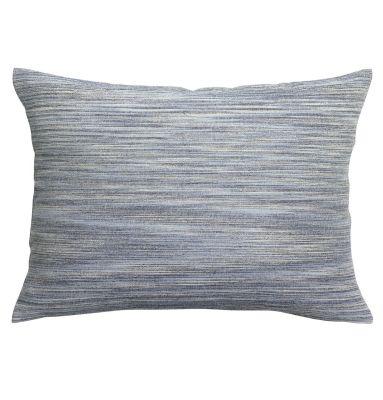 taie d 39 oreiller pac me indigo coton stonewashed 50x75 linge de maison. Black Bedroom Furniture Sets. Home Design Ideas