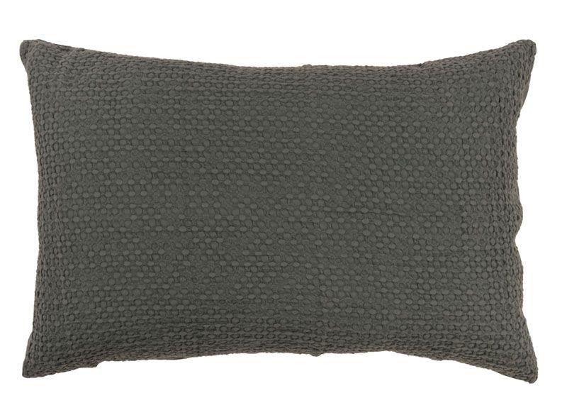 taie d 39 oreiller phebus ardoise 50x75 linge de maison. Black Bedroom Furniture Sets. Home Design Ideas