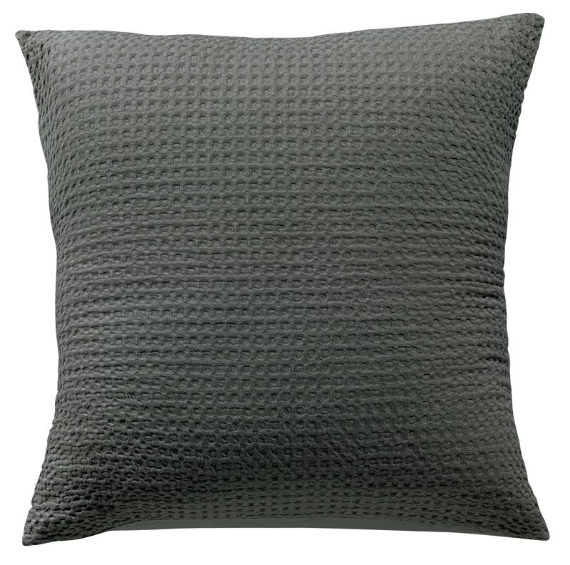 taie d 39 oreiller phebus ardoise 80x80 linge de maison. Black Bedroom Furniture Sets. Home Design Ideas