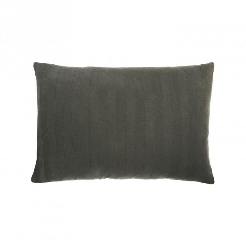 taie d 39 oreiller stonewashed bernie ardoise 50x75 linge de maison. Black Bedroom Furniture Sets. Home Design Ideas