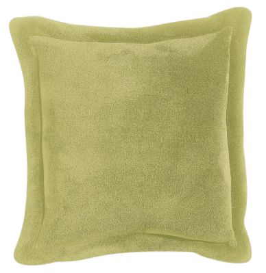 coussin velours polyester tender vert anis 50x50 d coration. Black Bedroom Furniture Sets. Home Design Ideas