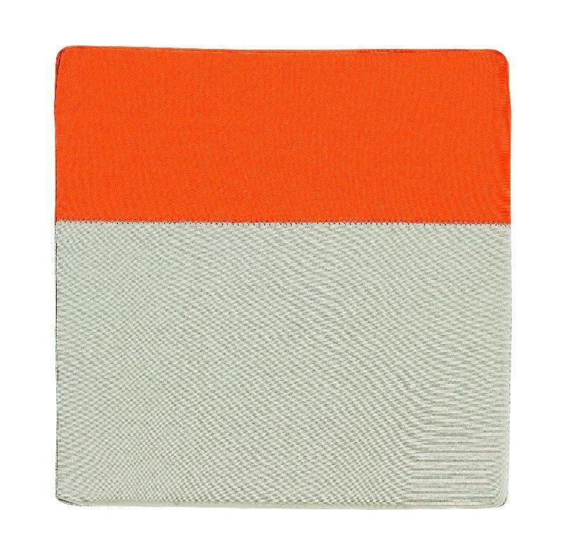 galette de chaise noe orange ficelle 38x38 d coration. Black Bedroom Furniture Sets. Home Design Ideas