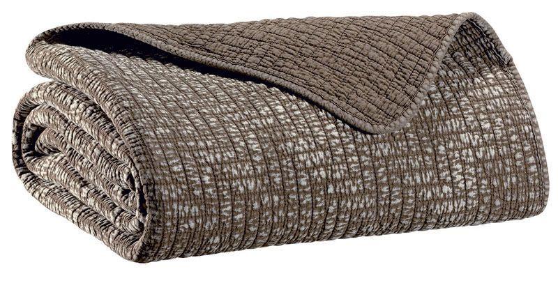jet de lit coton sadi naturel 230x250 winkler. Black Bedroom Furniture Sets. Home Design Ideas