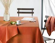 Nappe lin Air brique 150x250 - Winkler