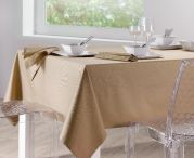 Nappe unie Soft ficelle 170x170 - Winkler