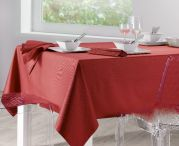 Nappe unie soft rouge 170x170 - Winkler