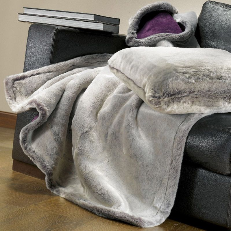 plaid imitation fourrure sib ria 127x152 winkler. Black Bedroom Furniture Sets. Home Design Ideas