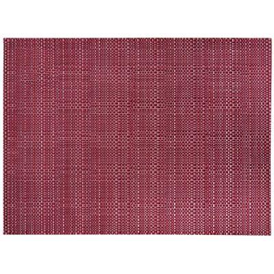 set de table canna effet paille tress e rouge lie de vin 33x45 art de la table. Black Bedroom Furniture Sets. Home Design Ideas