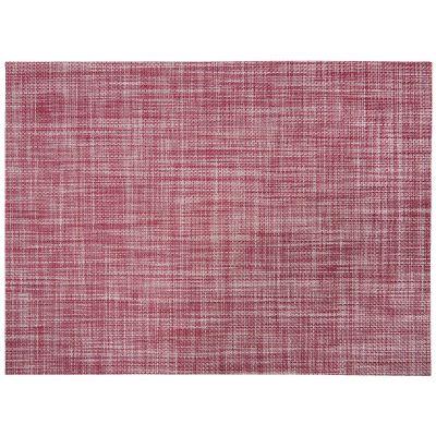 set de table lina pvc effet tiss coloris rouge lie de vin 33x45 art de la table. Black Bedroom Furniture Sets. Home Design Ideas