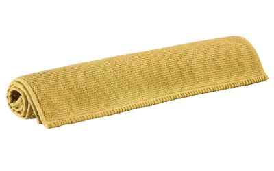 tapis de bain bora jaune curry coton 80x50 linge de maison. Black Bedroom Furniture Sets. Home Design Ideas