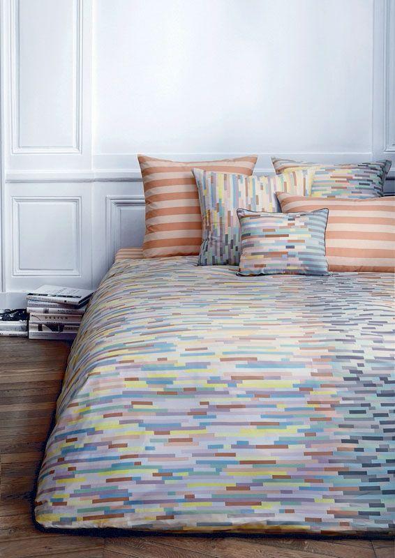 taie d 39 oreiller percale aliz corail 75x50. Black Bedroom Furniture Sets. Home Design Ideas
