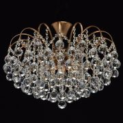 Lustre Crystal Métal Bronze - MW-Light