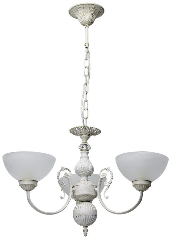 lustre baroque m tal blanc effet us 3 clairages mw light. Black Bedroom Furniture Sets. Home Design Ideas