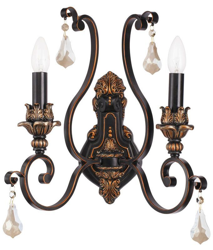 applique murale baroque noire best applique noire applique murale noire spot applique murale. Black Bedroom Furniture Sets. Home Design Ideas
