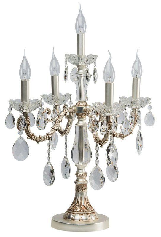 lampe chandelier m tal argent patin 6 clairages. Black Bedroom Furniture Sets. Home Design Ideas