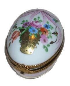 Bo te oeuf porcelaine de limoges marie antoinette for Linge de maison limoges