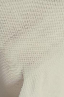 Dessus de lit p rigord ivoire quadrill piqu de coton p rigord 270x250 linge de maison - Dessus de lit pique de coton ...
