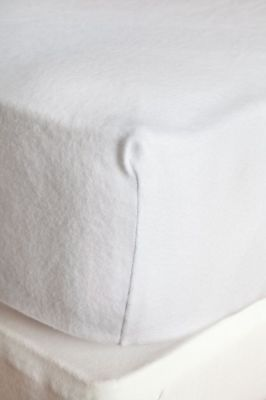 prot ge matelas gentiane molleton coton pu imperm able bonnet 40 cm 140x190 linge de maison. Black Bedroom Furniture Sets. Home Design Ideas