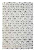 Tapis Eddis laine tissé main bicolore 160x230 - The Rug Republic