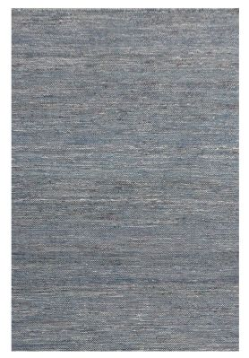 Tapis Flamings ciment chanvre effet tissé 230x160 - The Rug Republic
