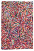 Tapis Gavin tufté main coton multicolore 160x230 - The Rug Republic